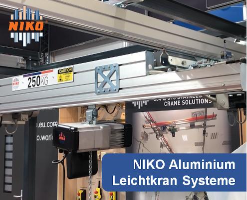 NIKO Aluminium Leichtkran