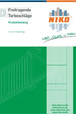 NIKO | Katalog Freitragende Torbeschläge